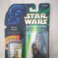 Figuras y Muñecos Star Wars: STAR WARS. CHEWBACCA EN HOTH CON LA BALLESTA. THE POWER OF THE FORCE DE KENNER. NUEVO!. Lote 166271122