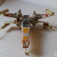 Figuras y Muñecos Star Wars: STAR WARS NAVE X - WING ORIGINAL LFL 2005 TRANSFORMABLE EN LUKE SKYWALKER VER FOTOS HAY MUCHAS. Lote 57270264