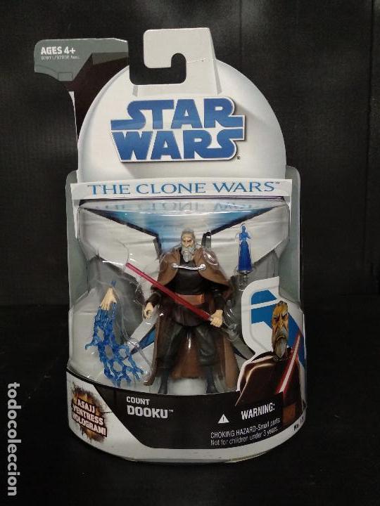 STAR WARS THE CLONE WARS CONDE DOOKU / COUNT DOOKU - HASBRO - NUEVO (Juguetes - Figuras de Acción - Star Wars)