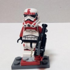 Figuras y Muñecos Star Wars: MINIFIGURA ORIGINAL LEGO STAR WARS IMPERIAL STORMTROOPERS - IMPERIAL SHOCK TROOPER (75134). Lote 166462878