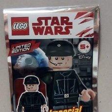 Figuras y Muñecos Star Wars: MINIFIGURA ORIGINAL LEGO STAR WARS IMPERIAL SHUTTLE PILOT. Lote 166464094