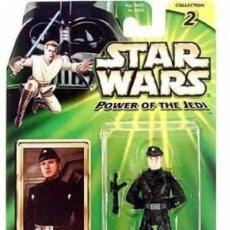Figuras y Muñecos Star Wars: STAR WARS POWER OF THE JEDI IMPERIAL OFFICER. Lote 166523498