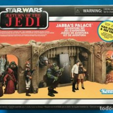 Figuras y Muñecos Star Wars: SET EXCLUSIVO STAR WARS - PALACIO DE JABBA THE HUTT - COLECCION VINTAGE - KENNER. Lote 166621257