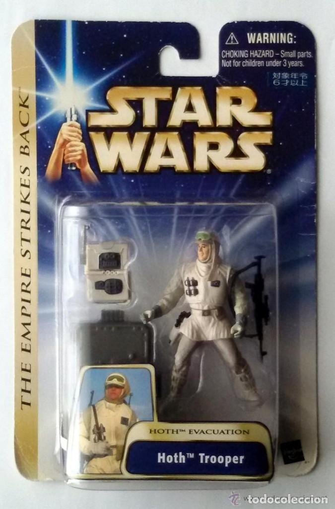 STAR WARS THE EMPIRE STRIKES BACK - HOTH TROOPER - HASBRO (Juguetes - Figuras de Acción - Star Wars)
