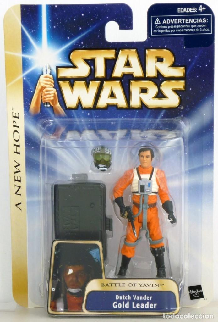 STAR WARS A NEW HOPE - GOLD LEADER - HASBRO (Juguetes - Figuras de Acción - Star Wars)