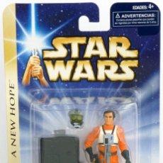 Figuras y Muñecos Star Wars: STAR WARS A NEW HOPE - GOLD LEADER - HASBRO. Lote 166900116