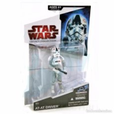 Figuras y Muñecos Star Wars: STAR WARS LEGACY COLLECTION - AT-AT DRIVER - HASBRO. Lote 166900416