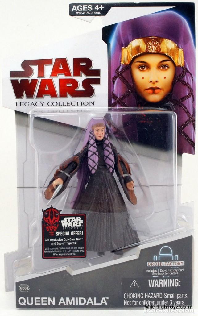 STAR WARS LEGACY COLLECTION - QUEEN AMIDALA - HASBRO (Juguetes - Figuras de Acción - Star Wars)