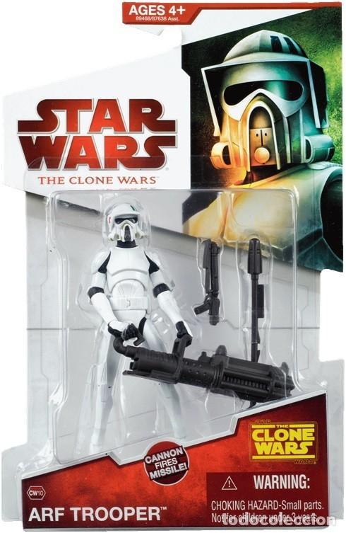 STAR WARS THE CLONE WARS - ARF TROOPER - HASBRO (Juguetes - Figuras de Acción - Star Wars)