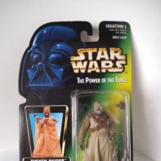 Figuras y Muñecos Star Wars: STAR WARS THE POWER OF THE FORCE - TUSKEN RAIDER - HASBRO. Lote 166901116