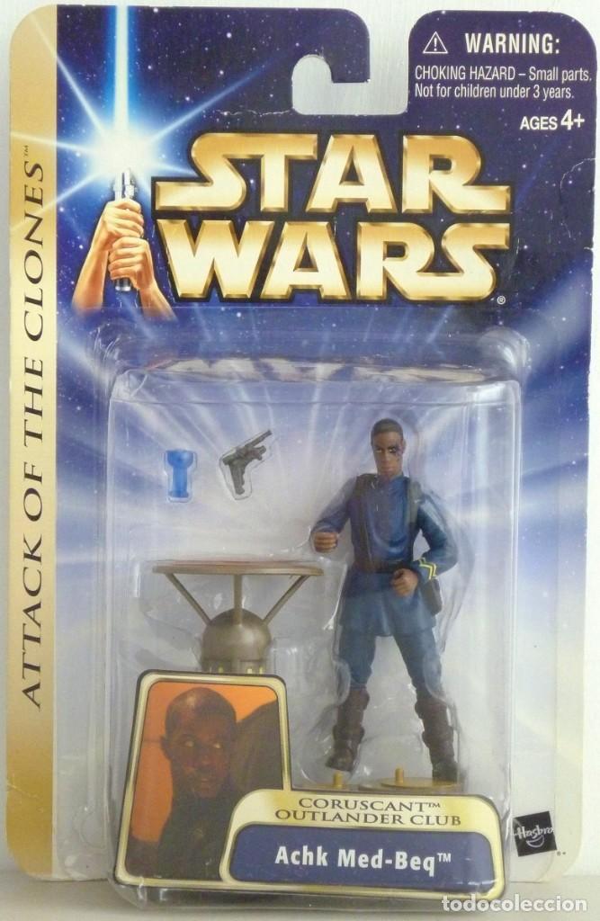 STAR WARS ATTACK OF THE CLONES - ACHK MED-BEQ - HASBRO (Juguetes - Figuras de Acción - Star Wars)