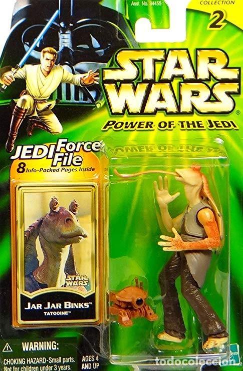 STAR WARS POWER OF THE JEDI - JAR JAR BINKS - HASBRO (Juguetes - Figuras de Acción - Star Wars)