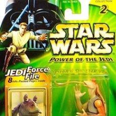Figuras y Muñecos Star Wars: STAR WARS POWER OF THE JEDI - JAR JAR BINKS - HASBRO. Lote 166901628