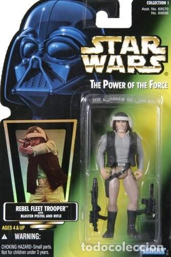 STAR WARS POWER OF THE JEDI - REBEL FLEET TROOPER - HASBRO (Juguetes - Figuras de Acción - Star Wars)