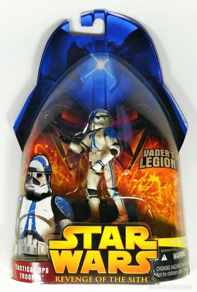 STAR WARS REVENGE OF THE SITH - TACTICAL OPS TROOPER - HASBRO (Juguetes - Figuras de Acción - Star Wars)