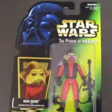 Figuras y Muñecos Star Wars: FIGURA STAR WARS - NIEN NUNB - POWER OF THE FORCE- KENNER. Lote 167056526
