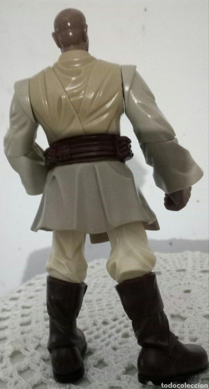 Figuras y Muñecos Star Wars: MACE WINDU STAR WARS FIGURA HASBRO. - Foto 2 - 167178096