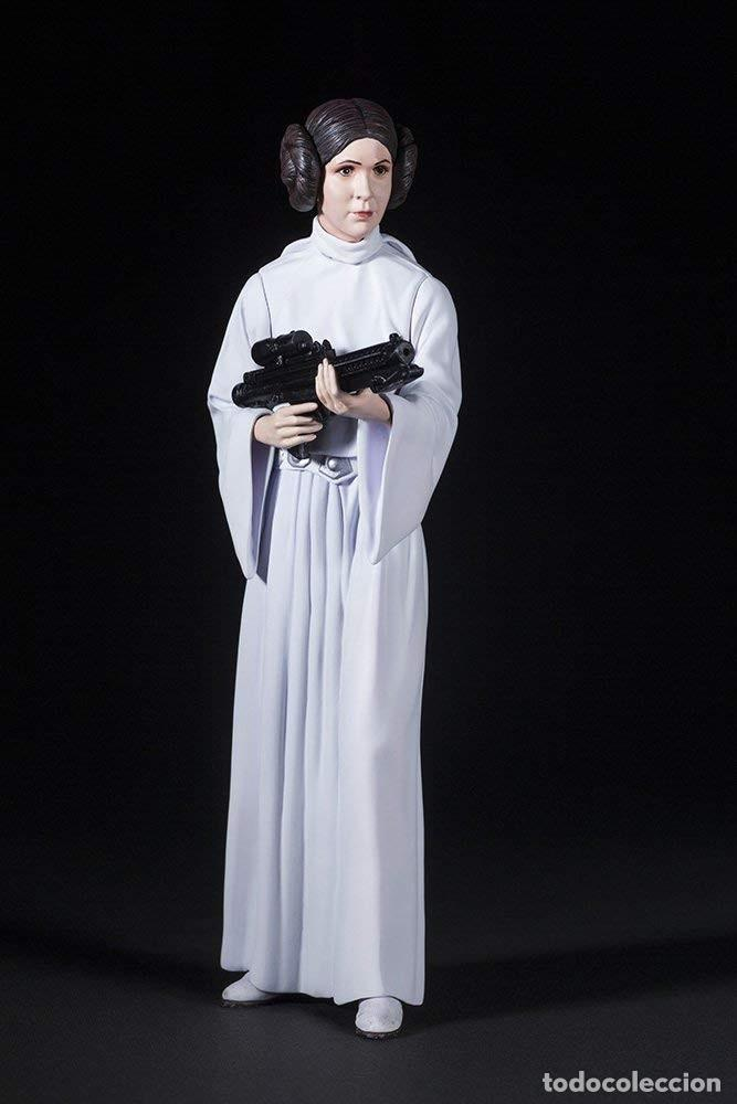 Figuras y Muñecos Star Wars: Kotobukiya Star Wars: Luke Skywalker and Princess Leia ArtFX 1/10 - Foto 3 - 167187409