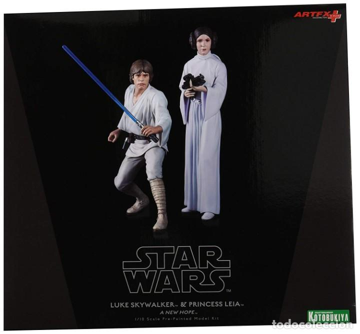 KOTOBUKIYA STAR WARS: LUKE SKYWALKER AND PRINCESS LEIA ARTFX 1/10 (Juguetes - Figuras de Acción - Star Wars)