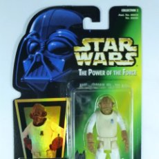 Figuras y Muñecos Star Wars: FIGURA ADMIRAL ACKBAR - STAR WARS - POWER OF THE FORCE - KENNER VINTAGE. Lote 167457766