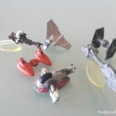 Figuras y Muñecos Star Wars: LOTE STAR WARS MICROMACHINES - 6 MINUATURAS. Lote 167462516