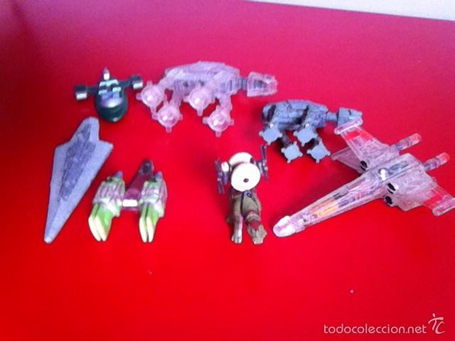 LOTE NAVES Y FIGURAS. STAR WARS (Juguetes - Figuras de Acción - Star Wars)