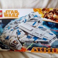 Figuras y Muñecos Star Wars: STARS WARS CAJA LEGO MILLENNIUM FALCON,CAJA VACIA.. Lote 167802748