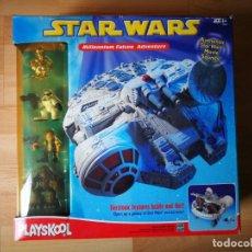 Figuras y Muñecos Star Wars: STAR WARS. HALCÓN MILENARIO ELECTRÓNICO DE PLAYSKOOL (2002). Lote 167824912