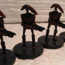 Figuras y Muñecos Star Wars: STAR WARS MINIATURES BATTLE DROID DESCATALOGADO. Lote 167926864