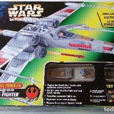 Figuras y Muñecos Star Wars: HASBRO STAR WARS X-WING FIGHTER ELECTRONIC POWER F/X. SIN ESTRENAR.. Lote 167928544