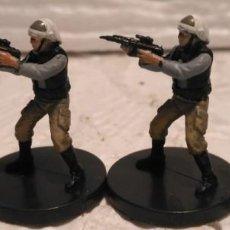 Figuras y Muñecos Star Wars - STAR WARS MINIATURES Rebel Trooper DESCATALOGADO - 167938620