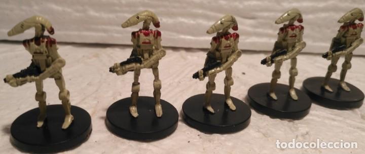 STAR WARS MINIATURES SECURITY BATTLE DROID DESCATALOGADO (Juguetes - Figuras de Acción - Star Wars)