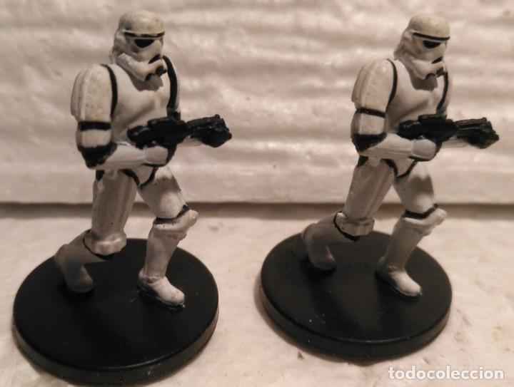 STAR WARS MINIATURES 2P22 STORMTROOPER DESCATALOGADO (Juguetes - Figuras de Acción - Star Wars)
