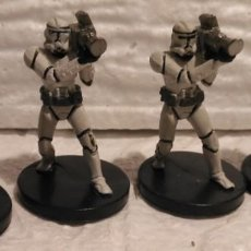 Figuras y Muñecos Star Wars: STAR WARS MINIATURES HEAVY CLONE TROOPER DESCATALOGADO. Lote 168008368