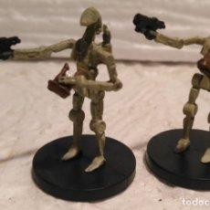 Figuras y Muñecos Star Wars - Star Wars miniatures Oficial de droides de batalla descatalogado - 168029220