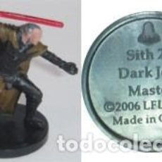 Figuras y Muñecos Star Wars: STAR WARS MINIATURES DARK JEDI MASTER DESCATALOGADO. Lote 168128268