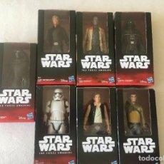 Figuras y Muñecos Star Wars: LOTE X7 FIGURAS STAR WARS - NUEVO BLISTER - DISNEY HASBRO AÑO 2015. Lote 168260020