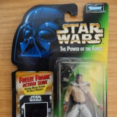 Figuras y Muñecos Star Wars: FIGURA LANDO CALRISSIAN - STAR WARS - POWER OF THE FORCE - KENNER VINTAGE. Lote 168302696