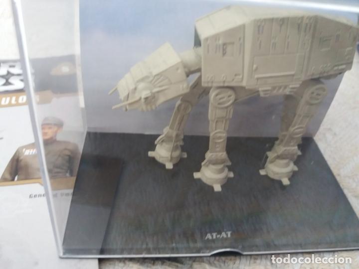 Figuras y Muñecos Star Wars: STAR WARS NAVES Y VEHICULOS AT-AT HORMIGAS ROBOTS Y FASCÍCULO 5 PLANETA AGOSTINI FIGURA PLOMO - Foto 2 - 168345004