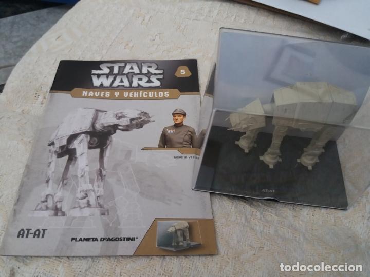 STAR WARS NAVES Y VEHICULOS AT-AT HORMIGAS ROBOTS Y FASCÍCULO 5 PLANETA AGOSTINI FIGURA PLOMO (Juguetes - Figuras de Acción - Star Wars)