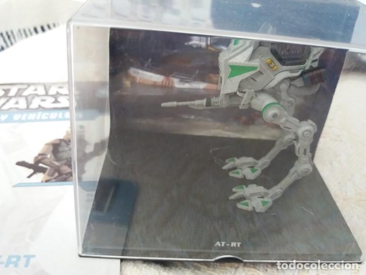 Figuras y Muñecos Star Wars: STAR WARS NAVES Y VEHICULOS AT-RT HORMIGA ROBOT Y FASCÍCULO 15 PLANETA AGOSTINI FIGURA PLOMO - Foto 2 - 168345768