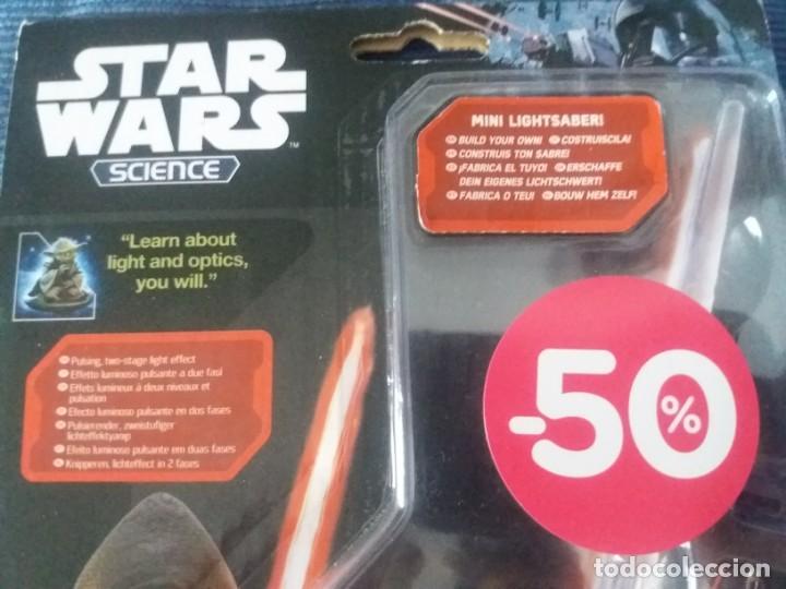 Figuras y Muñecos Star Wars: DISNEY UNCLE MILTON STAR WARS SCIENCE MINI SABLE DE LUZ EN BLISTER - Foto 6 - 168382640