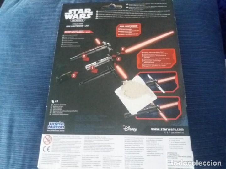 Figuras y Muñecos Star Wars: DISNEY UNCLE MILTON STAR WARS SCIENCE MINI SABLE DE LUZ EN BLISTER - Foto 7 - 168382640