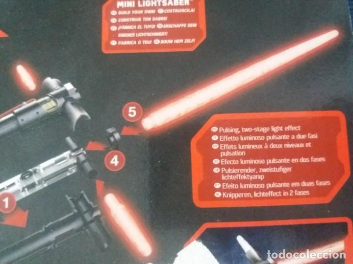 Figuras y Muñecos Star Wars: DISNEY UNCLE MILTON STAR WARS SCIENCE MINI SABLE DE LUZ EN BLISTER - Foto 8 - 168382640