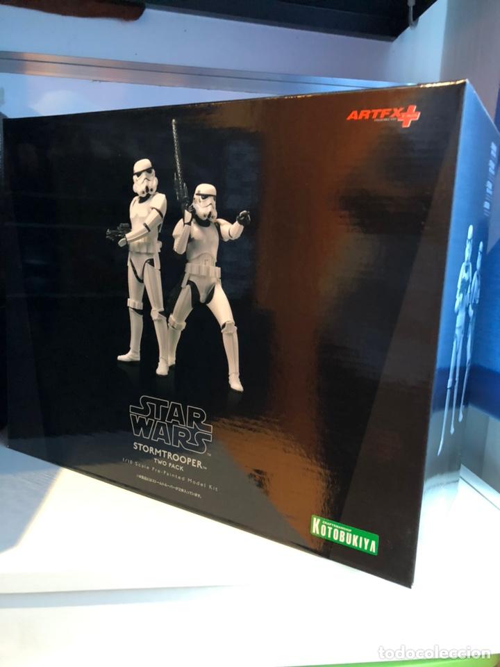 STORMTROOPER TWO PACK - STAR WARS KOTOBUKIYA ARTFX 1/10 SCALE MODEL KIT (Juguetes - Figuras de Acción - Star Wars)