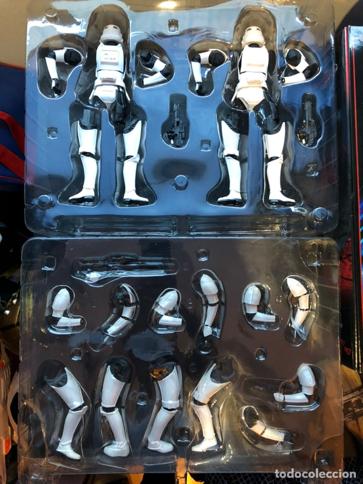 Figuras y Muñecos Star Wars: Stormtrooper Two Pack - Star Wars Kotobukiya ARTFX 1/10 Scale Model Kit - Foto 3 - 168457982