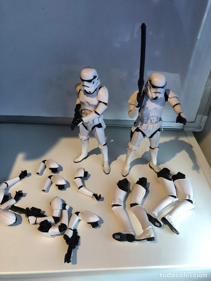 Figuras y Muñecos Star Wars: Stormtrooper Two Pack - Star Wars Kotobukiya ARTFX 1/10 Scale Model Kit - Foto 4 - 168457982