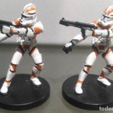 Figuras y Muñecos Star Wars: STAR WARS MINIATURES CLONE TROOPER DESCATALOGADO. Lote 168511168