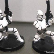 Figuras y Muñecos Star Wars: STAR WARS MINIATURES CLONE TROOPER DESCATALOGADO. Lote 168522952