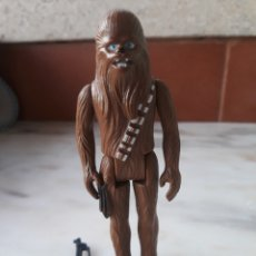 Figuras y Muñecos Star Wars: STAR WARS FIGURA CHEWBACCA CON ARMA ORIGINAL 1977 GMFGI. Lote 169033841